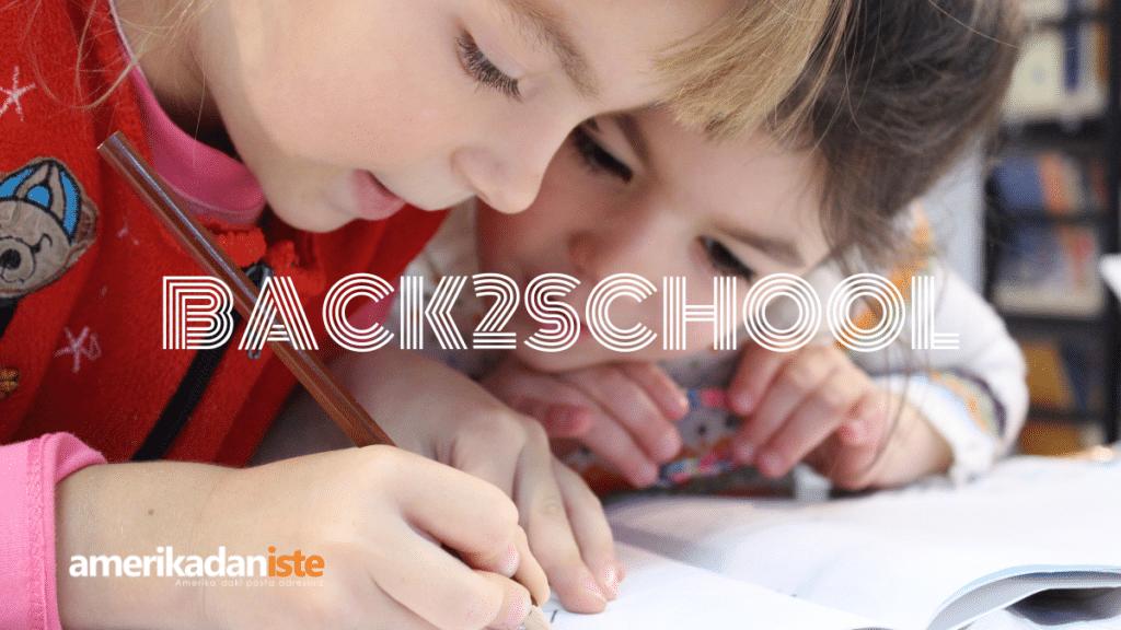 Çocuklarımızı okula hazırlamanın tam zamanı. Şimdi işinizi kolaylaştırıyoruz.